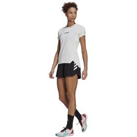 adidas TERREX Parley Agravic Rundt om shorts Damer, hvid/sort